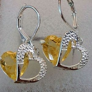 Jewelry - 15+ TCW CITRINE ~ 925 STAMPED STERLING SILVER